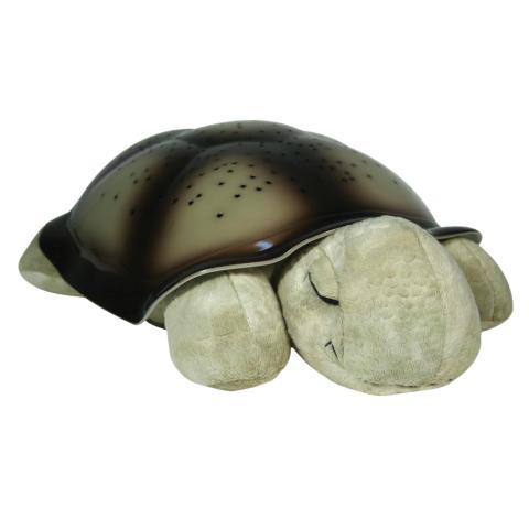 Nattlampa med stjärnhimmel - Sköldpadda