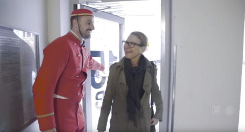 Riksbyggens piccolo överraskade de boende i Hammarby Sjöstad
