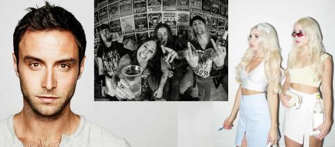 Måns Zelmerlöw, Hardcore Superstar och Rebecca & Fiona  inleder Östersjöfestivalen i Karlshamn
