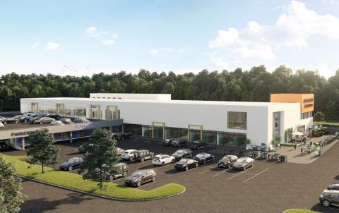 Får 10 000 m2 nye butikklokaler