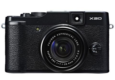 FUJIFILM X20 black front