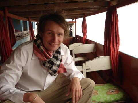 Jesper Lejfjord, vice ordförande FENA Sverige