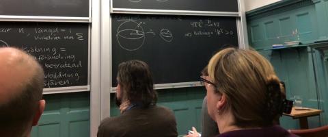 Matematiklärare planerar framtidens mattelektioner