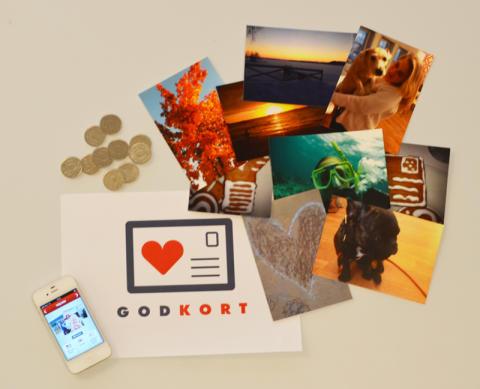 Goda vykort nästa satsning för Goodcause