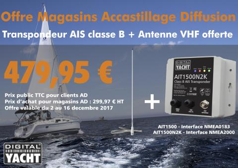 Offre pour magasins Accastillage Diffusion - Digital Yacht