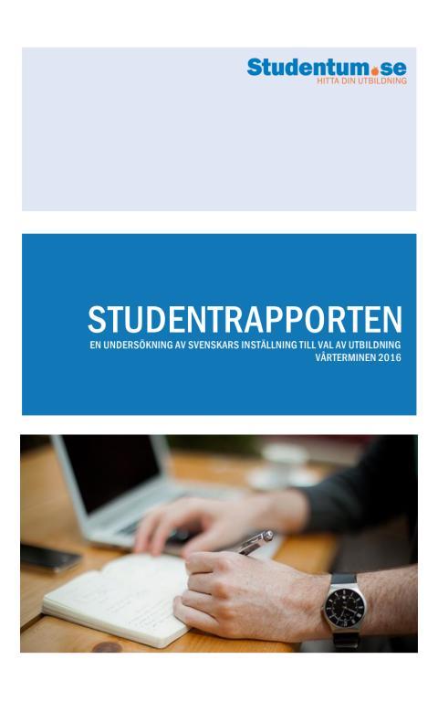 StudentRapporten 2016