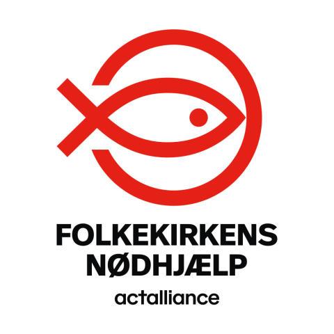 Folkekirkens Nødhjælp logo