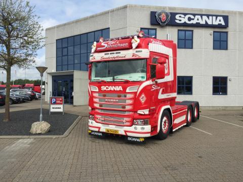 Ny Scania R 580 til Sejer og Sønnichsen A/S