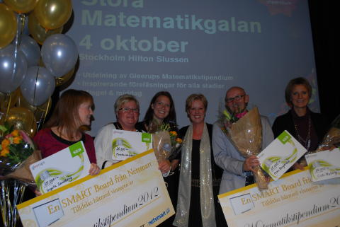 Gleerups matematiksptipendiater 2012 prisutdelning