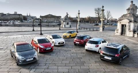 Citroën DS3 i olika versioner
