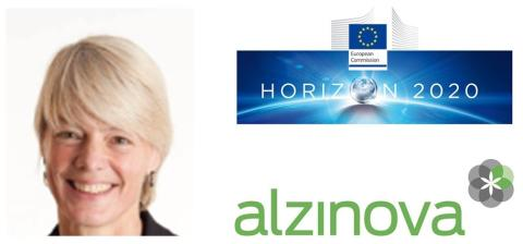 Alzinova om erhållen H2020 finansiering och tilldelad coach