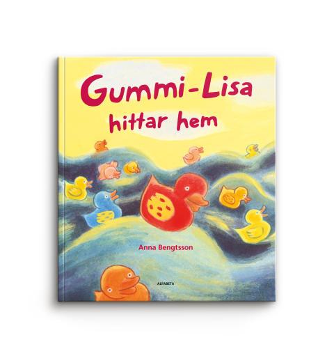 Gummi-Lisa hittar hem Bok Happy Meal 2016