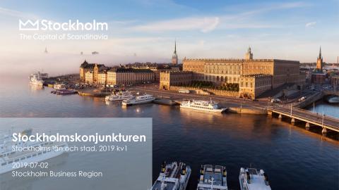 Stockholmskonjukturen 2019, kvartal 1
