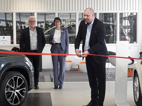 SEAT-center invigs i Ronneby