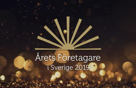 Kunglig stjärnglans när Årets Företagare i Sverige 2019 koras
