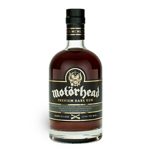 Legendariska Motörhead lanserar en premium rom i Systembolagets fasta sortiment 1 december