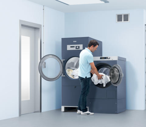 Energieffektiv grovtvättutrustning från Miele Professional