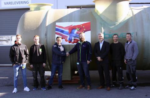 Kina - nok en milepæl for Biovac renseanlegg