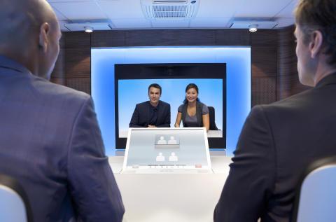 TANDBERG presenterar framtiden för telepresence