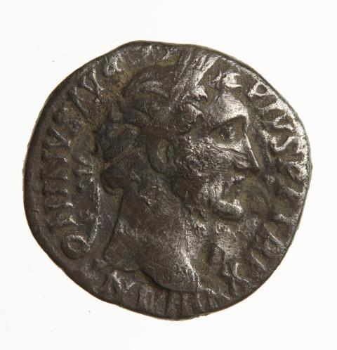 Romersk denar fra Hillested-skatten