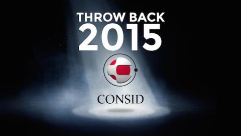 Throw back Consid 2015! Topp 10 bästa händelserna under det gångna året.
