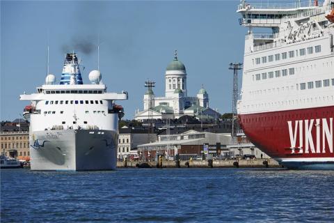 The Port of Helsinki takes the top spot among European passenger ports