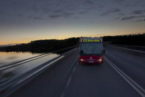 Bättre nattrafik för Danderyds resenärer