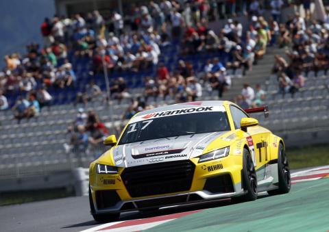 Audi Sport TT Cup Spielberg 2015 - Audi TT cup #17, Nicolaj Møller Madsen