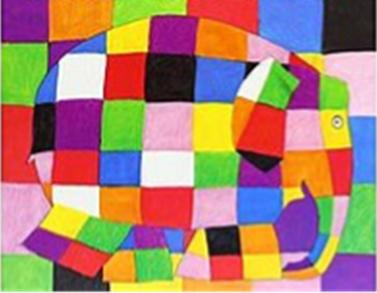 Elmer storytime at Ramsbottom and Prestwich libraries