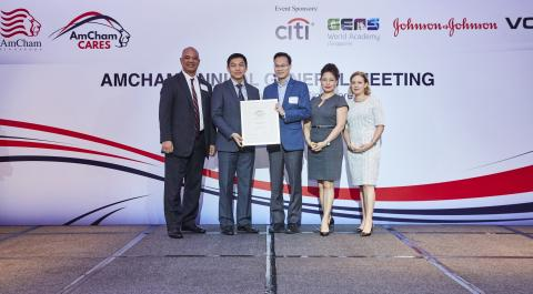 Kimberly-Clark Asia Pacific Receives AmCham CARES Award for Outstanding Corporate Citizenship