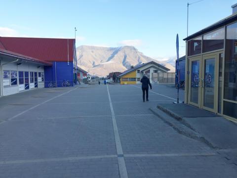 Longyearbyen med nytt urbant sentrum