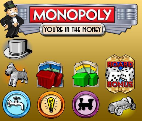 Monopoly hedelmäpeli