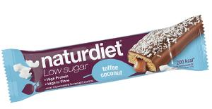 Naturdiet Low Sugar Meal barToffee Coconut