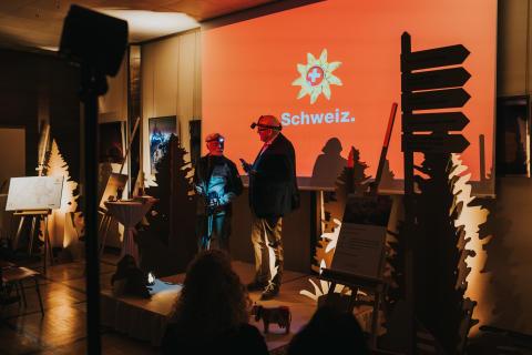 Wanderland Schweiz auf Tour durch Deutschland