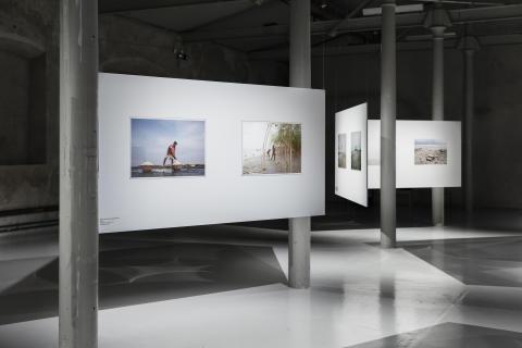 Installation view/Installationsbild Suvra Kanti Das Delta & Sediment Färgfabriken 2019