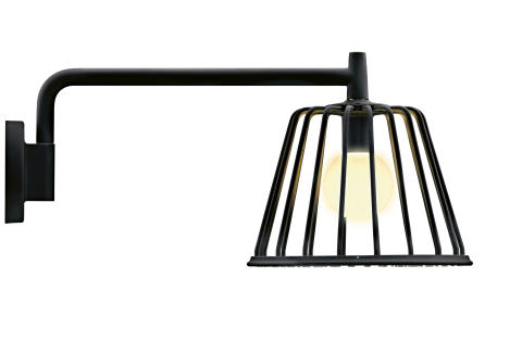 Axor_LampShower_by Nendo_Wall_Black