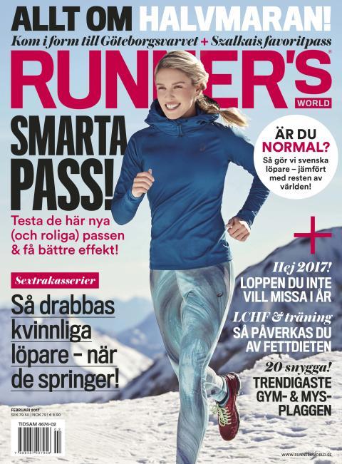 Runner's World omslag nr 2 2017