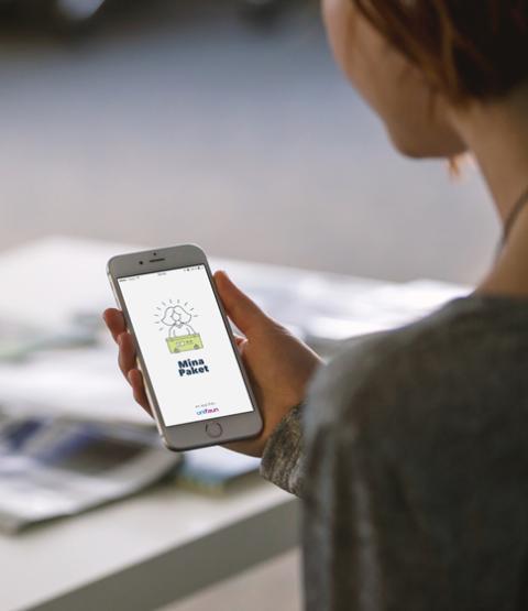 Mina Paket, ny app för enklare e-handel