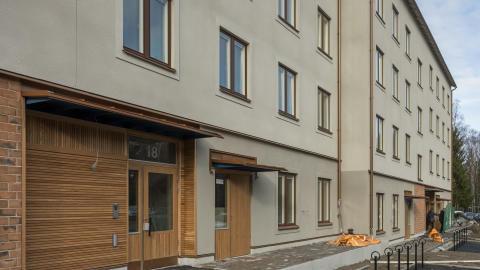 Nu flyttas det in i första Stockholmshuset