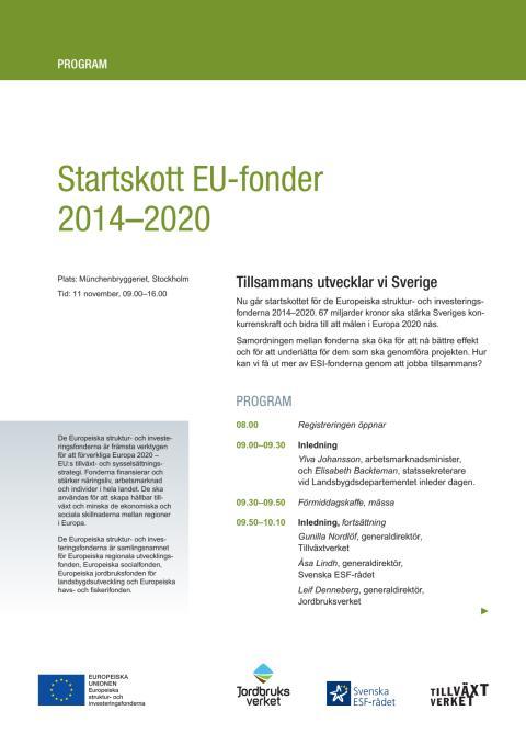 Program Startskott EU-fonder