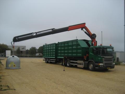 Scania leverer gaslastbil til ESØ i Tarm