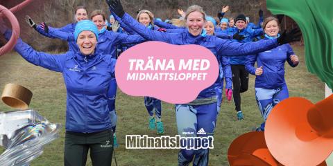 Låt Midnattsloppet bli målet för din löpträning.