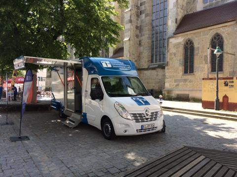 Beratungsmobil der Unabhängigen Patientenberatung kommt am 9. Oktober nach Nördlingen.