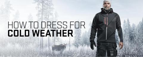 Richtig gekleidet bei kaltem Wetter
