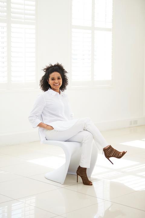 Vanda Serrador, hudterapeut och hudvårdsexpert för The Body Shop