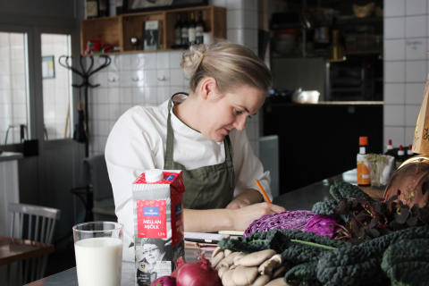 Kocken Linnéa Liljedahl tar fram gourmetmeny – till mjölk_4