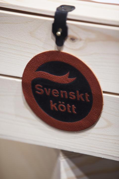 Svenskt Kött råvarulåda till d'Or Europe 2014 med svensk unggris