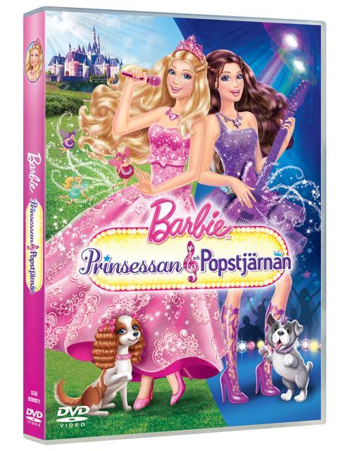 Barbie: Prinsessa och popstjärnan på DVD 10 oktober