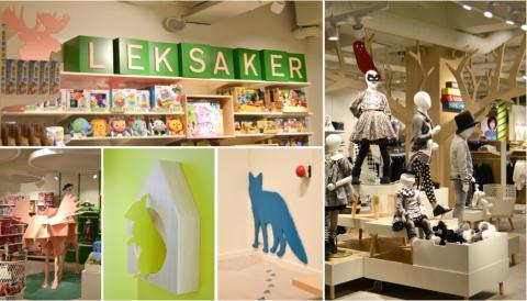 Lexter skapar magisk stämning på Åhléns nya barnavdelning