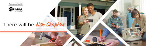 BLACK+DECKER™ Supports Habitat for Humanity®